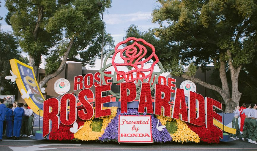 133rd Tournament of Roses Parade